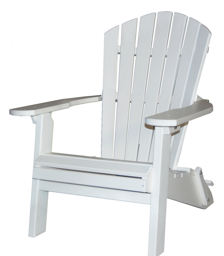 Folding Adirondack Deck Chairs