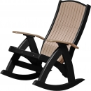 Comfort Rocker - Weatherwood/Black