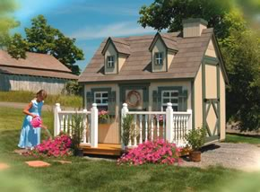 Playhouses Hardy Lawn Furniture Amish Built Lawn