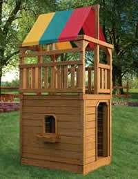 Playset Towers Hardy Lawn Furniture Amish Built Lawn