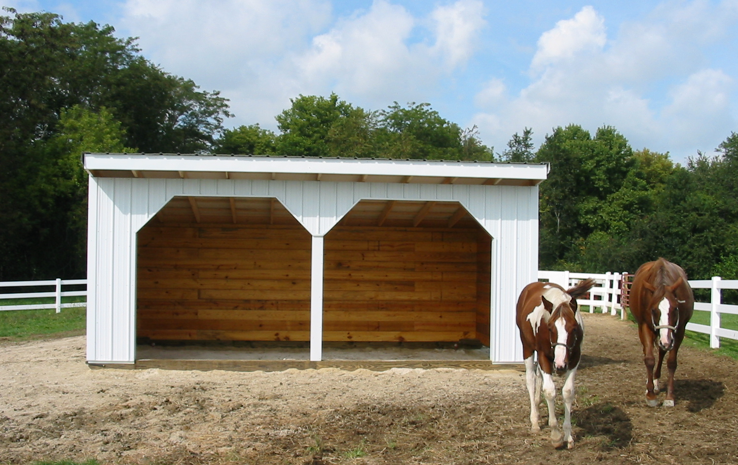 Steel Run-In Shed Options